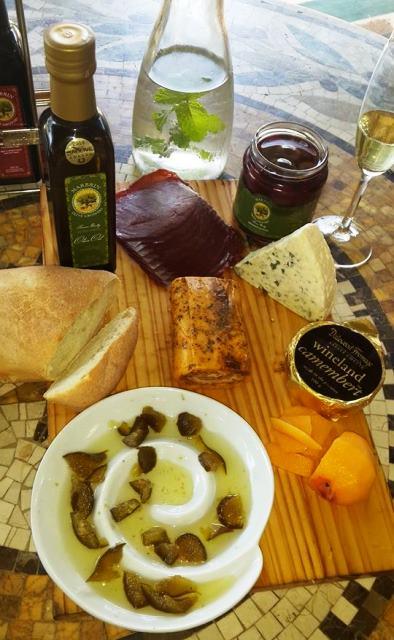 27 Marbrin Olive Farm tasting platter