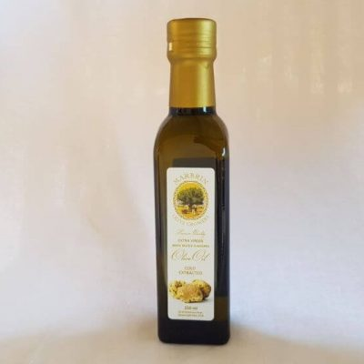 White Truffle flavored olive