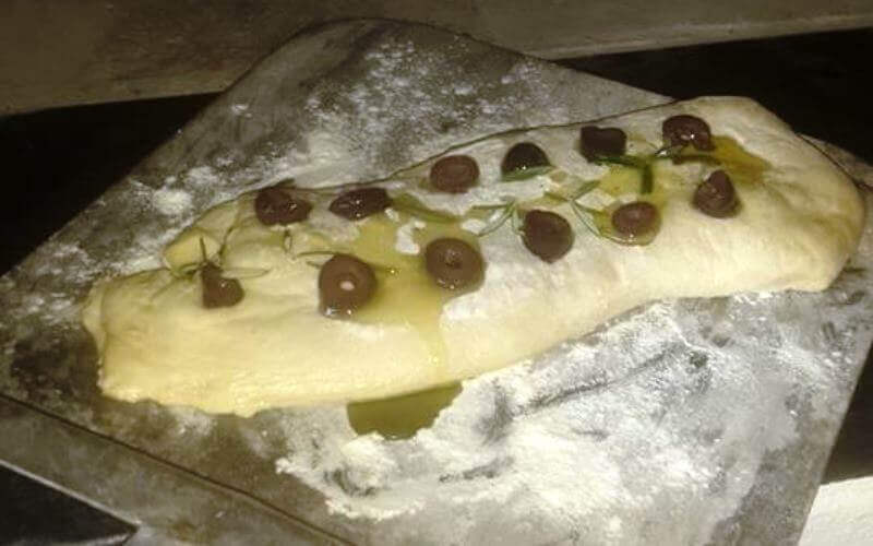 Olive Rosemary Ciabatta Recipe