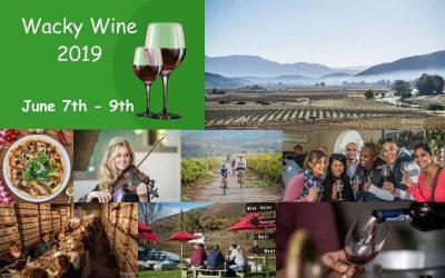 Wacky Wine Festival for 2019